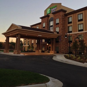 Holiday Inn Express and Suites Wichita Northeast property information