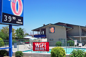 Motel 6 Red Bluff property information