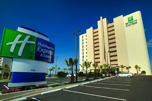 Holiday Inn Express Hotel & Suites OCEANFRONT DAYTONA BCH SHORES property information