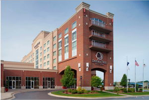 Doubletree Hotel Bay City  Riverfront property information
