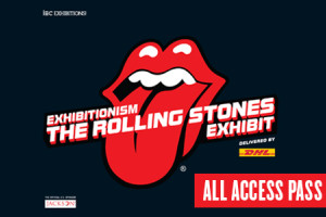 All Access Pass: UNLIMITED Admission to The Rolling Stones Exhibit and the Musicians Hall of Fame Package