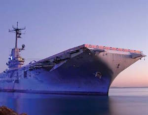 USS Lexington Museum Vacation Package