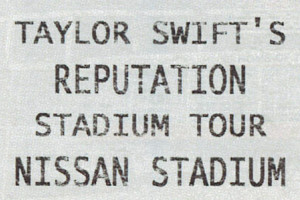 Taylor Swift's Reputation Stadium Tour Package