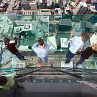 Skydeck Chicago at Willis Tower (formerly Sears Tower)