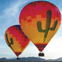 Up in the Air - Arizona Hot Air Balloon Experience