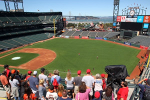 AT&T Park Tour Photo Gallery