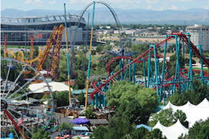 Elitch Gardens Hotel and Ticket Vacation Package