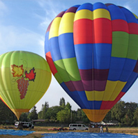 Above the Wine Country Balloons Photo Gallery